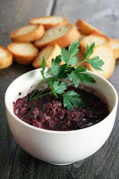 Kalamata Olive Tapenade. create a spread trio- hummus, olive tapenade and a cucumber-feta salsa with crusty bread and pita.