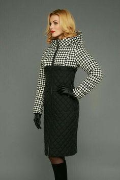 Peplum Coat, Coat Dress, Coats For Women, Clothes For Women, Moda Chic, Cute Jackets, White Fashion, Fashion Outfits, Womens Fashion