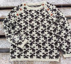 Moose Sweater by Lone Kjeldsen
