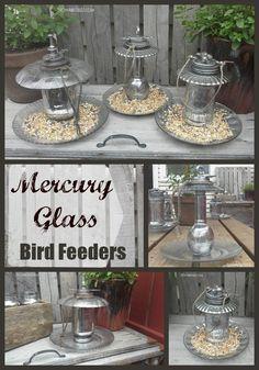 DIY-faux-mercury-glass-bird-feeder