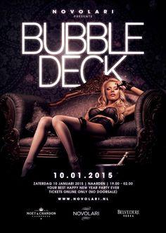 5e editie van Bubble Deck zaterdag a.s.