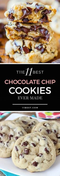 The 11 Best Chocolate Chip Cookie Recipes Ever Made