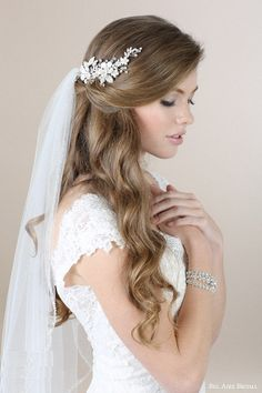 20 Hochzeitsfrisuren für langes Haar, Hochzeit Frisuren für lange Haare, Hochzeit Frisuren Veil Hairstyles, Romantic Hairstyles, Wedding Hairstyles With Veil, Beautiful Hairstyles, Hairstyles 2018, Hairstyle Wedding, Hairstyles Pictures, Latest Hairstyles, Easy Hairstyles