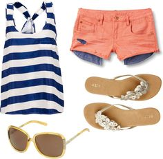 summer, created by maladroitslob on Polyvore