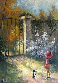 Obrazy - Tajemství zahrady - 8189629_