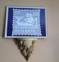 Zodiac Crochet Handmade Aquarius Sign and Symbol - Horoscope Sign and Symbol - Astrology Signs (40.00 USD) by KROCHETBYCB