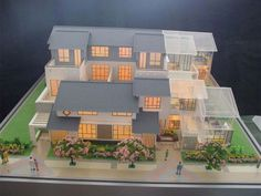 Miniature Residential House Model Architectural Models Norman OK