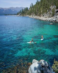 We could not ask for more last weekend. It was all there: isolation, crystal blue waters, our paddle boards, perfect weather. We love the beautiful Lake Tahoe, our second home. -- via travernicolas #sup #surfing #supsurfing #supping #supboard #paddleboard #paddleboarder #paddleboarding #supgirl #paddlegirl #suplife #adventureseeker #standuppaddle #standuppaddleboard #supadventure #laketahoe #california Sup Racing, Sup Girl, Inflatable Paddle Board, Sup Paddle, Standup Paddle Board, Paddle Boarding, Lake Tahoe, Touring, Boarders