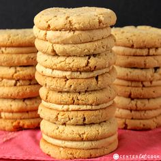 These Peanut Butter Sandwich cookies are a copycat version of the popular Girl Scout cookies. Easy to make and so delicious!