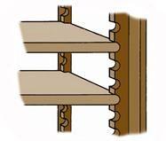 Different Ways to Build Adjustable Shelves | DoItYourself.com