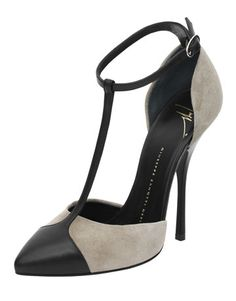 Giuseppe Zanotti heels, $795, giuseppezanottidesign.com.   - HarpersBAZAAR.com