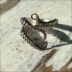 tentacle ring, $115.