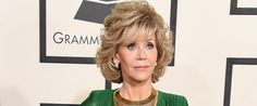 Jane Fonda's 2015 Grammys Outfit Puts Everyone Else To Shame (fab at 77!!!)