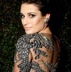 Confident stunner Lea Michele