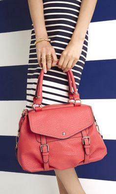 Sofie Coral Handbag