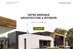 Baroque Architecture and Interior WordPress Theme