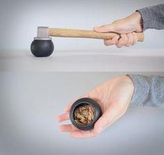 Rubber Hammer Nutcracker