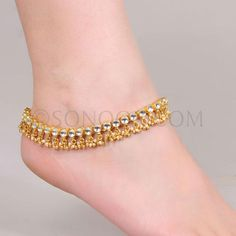 Anklet Jewelry, Anklets, Jewellery, Anklet Designs, Gold Bangles Design, Bridal Dresses, Women Wear, Jewels, Chain