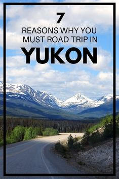 If you like road trips, Canada's Yukon should definitely be next on your list! A drive here features unbelievably wild landscapes, quiet roads, the chance to see captivating wildlife and more. Click h Road Trip Packing, Road Trip Games, Road Trip Essentials, Road Trips, Europe Travel Tips, Places To Travel, Backpacking Canada, Road Trip Canada, Yukon Canada