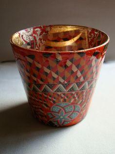 Tea Lights - Decoupage Artist Jill Barnes-Dacey