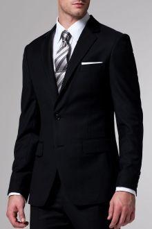 The Essential Black Suit.