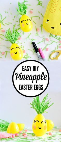 Are you feeling the pineapple craze?  Mine started with this cute Pillowfort pineapple pillow and led to these easy pineapple Easter eggs. Because who has time to spend hours dyeing and then hand painting hard boiled eggs? I'm assuming not you. These pineapple eggs are perfect for egg hunts with small children and take just [...]