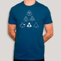 t-shirt zelda | t shirt harry potter | t-shirt pink floyd | t-shirt geek Zelda, Harry Styles, Dragon Ball, Pink Floyd T Shirt, Tee Shirts, Tees, Triangle, Harry Potter, Geek Stuff
