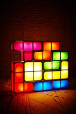 Tetris Lamp UK Plug at Urban Outfitters