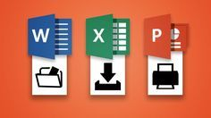 These Word, Excel, PowerPoint, and OneNote cheat sheets will help boost your productivity and save time when you're working in these programs. Microsoft Excel, Microsoft Windows, Microsoft Classroom, Microsoft Dynamics, Microsoft Office Programs, Computer Help, Computer Technology, Computer Programming, Computer Tips