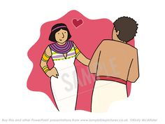 Joseph and Potiphar's wife - Lamp Bible Pictures