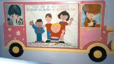 Bordes para carteleras escolares - Imagui