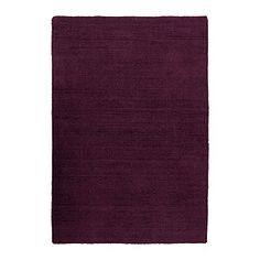 """ALMSTED rug, low pile, lilac Length: 6 ' 7 """" Width: 4 ' 7 """" Surface density: 11 oz/sq ft Length: 200 cm Width: 140 cm Surface density: 3290 g/m²"""