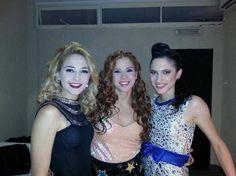 Mechi,Cande y Lodo!!❤️❤️❤️❤️ *---* antes de en vivo!!!