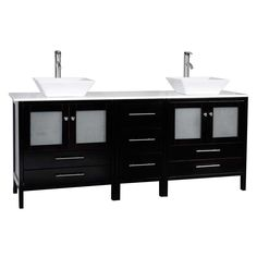 Gallery Website  Solid Wood Double Sink Bathroom Vanity Free Shipping WHN Conceptbaths