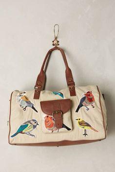 Birdwatcher Weekender by Miss Albright #anthroregistry