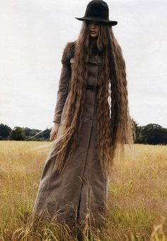 Tips for growing out hair. I do NOT want it this long though.