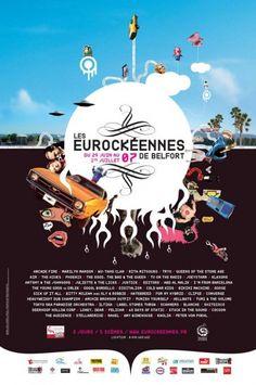 Les Eurockéennes de Belfort, 2007
