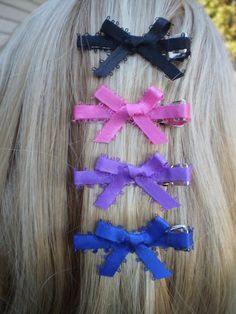 American Girl Doll Hairbows American Girl by sassydollcreations