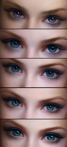 [转载]眼睛的绘制过程