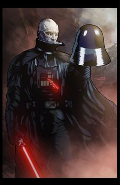 Darth Vader by Marcus Hill