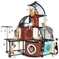 Found It At Wayfair 46 Mega Kit Cat Perch Cat Homes