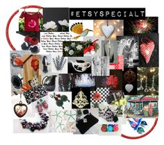Close Quarters by rescuedofferings on Polyvore featuring art, vintage, integrityTT and EtsySpecialT