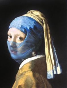 With A Pearl Earring Parody