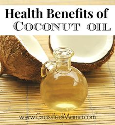 Health benefits of coconut oil. It's a staple in my house.