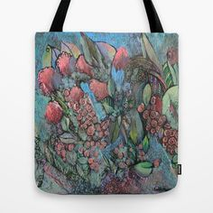 Wild Pick tote bag by Sandy Moulder on Society6