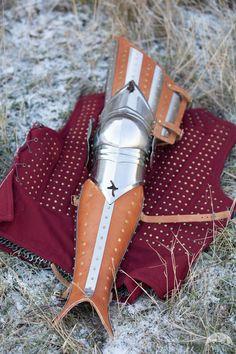 "Medieval Splinted Armor Legs ""Hound Of War"""