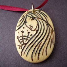 Mystery - Nouveau Polymer Pendant | Flickr - Photo Sharing!