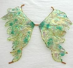 Ooak Fairy Wings-Iridescent-Green Day - For Dolls, Bears (Made by Request) by chloe6788 on Etsy https://www.etsy.com/listing/57938248/ooak-fairy-wings-iridescent-green-day