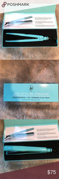 "LEYLA MILANI Give It To Me Straight Flat Iron LEYLA MILANI Give It To Me Straight Ceramic Flat Iron | NEW - in box | professional 1.25"" ceramic flat iron 