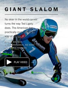 Ted Ligety - A new way of skiing.